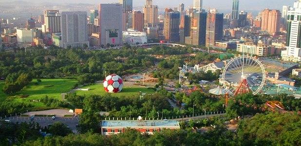 Full aerial view of dalian  china 41c4bec53e